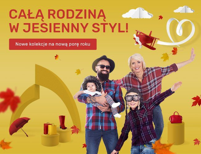 Całą rodziną w jesienny styl!